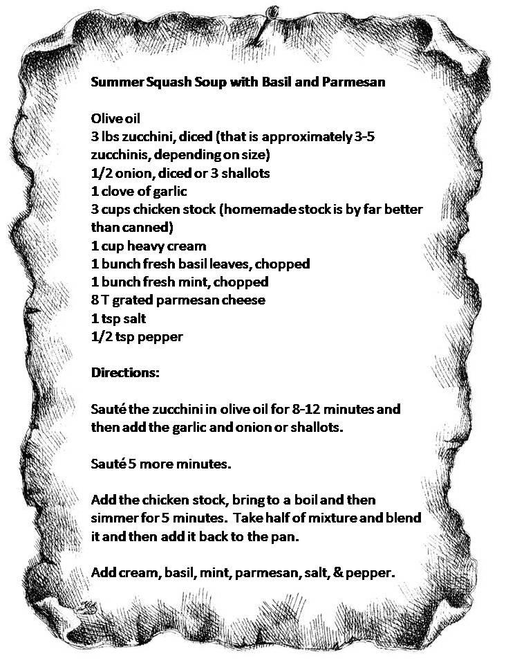 Recipe - Summer Squash Soup