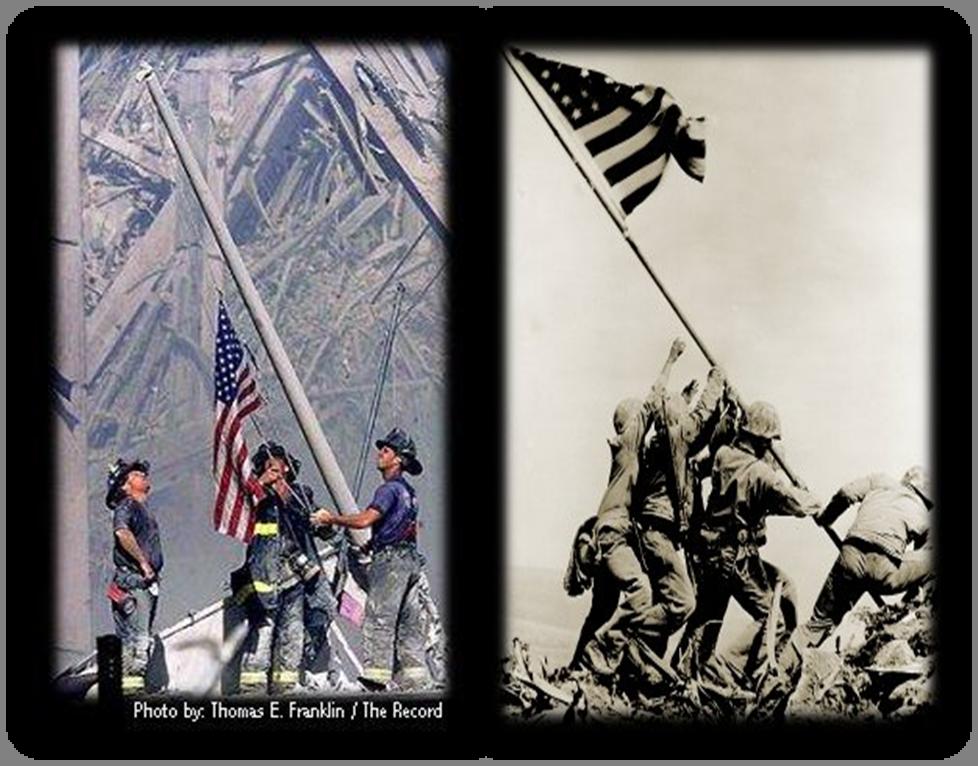 9-11 Flag Raising2